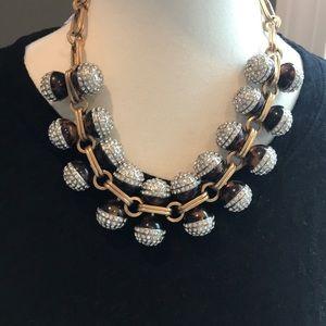 J-crew statement necklace.